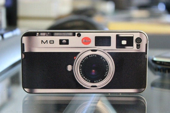 Leica M8 Camera Skin for iPhone 4 and 4S