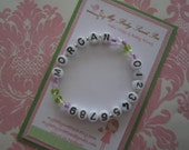 Childrens bracelet - childrens jewelry - Id bracelet - Id jewelry