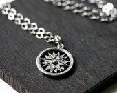 LAST ONE Compass Necklace