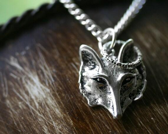 St. Fox Necklace SALE 25% OFF