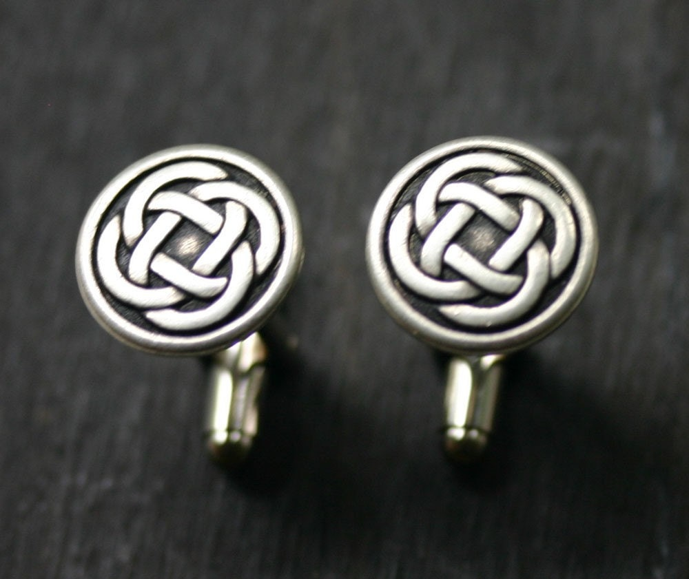 Celtic Eternity Knot Cuff Links