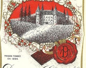 Domaine de Clairville Label, 1930's