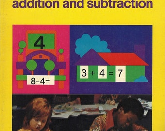 Addition and Subtraction, A Help Yourself Workbook, Vintage Whitman 1974