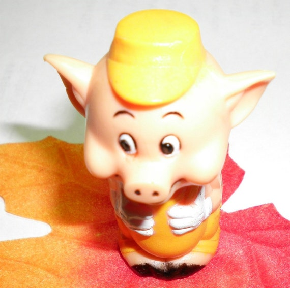 One of the Three Little Pigs Pencil Topper
