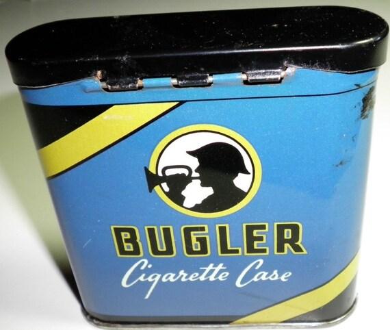 Bugler Tin Cigarette Case, 1950s