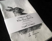 Le Lapin Rabbit Tea Towel