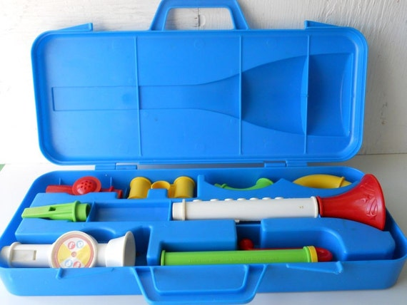 fisher-price crazy combo horn set