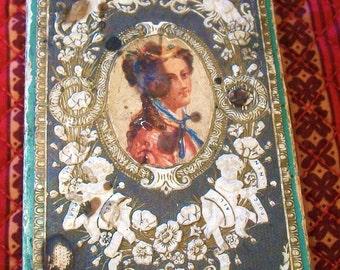 London 1862 Handkerchief Gentlemen's Fine Linen Cambric HKF Box Matier