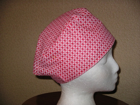 FREE US SHIPPING...Surgical Scrub hat w/velcro closure