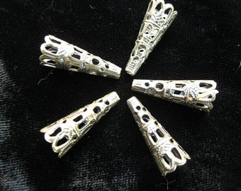 FILIGREE TRUMPET BEADS for torch firing