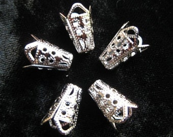 FILIGREE KING'S CROWN BEADS FOR TORCH FIRING