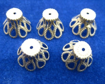 iron metal PETTICOAT filigree beads bead torch fire torch firing