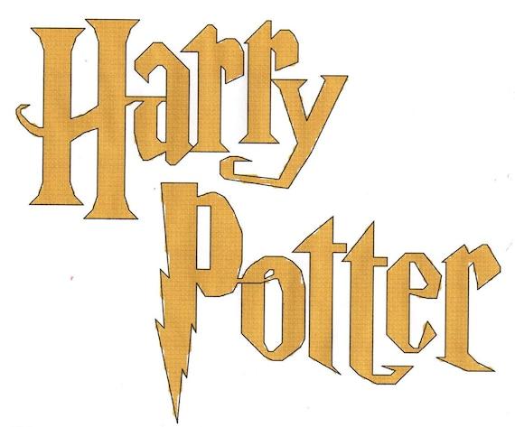 Harry Potter Logo Cross Stitch Pattern