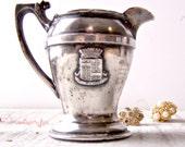 Reserve for Jane ONLY / Vintage Nickel Silver Hotel Creamer
