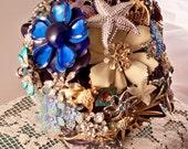 Something Blue Bridal Bouquet