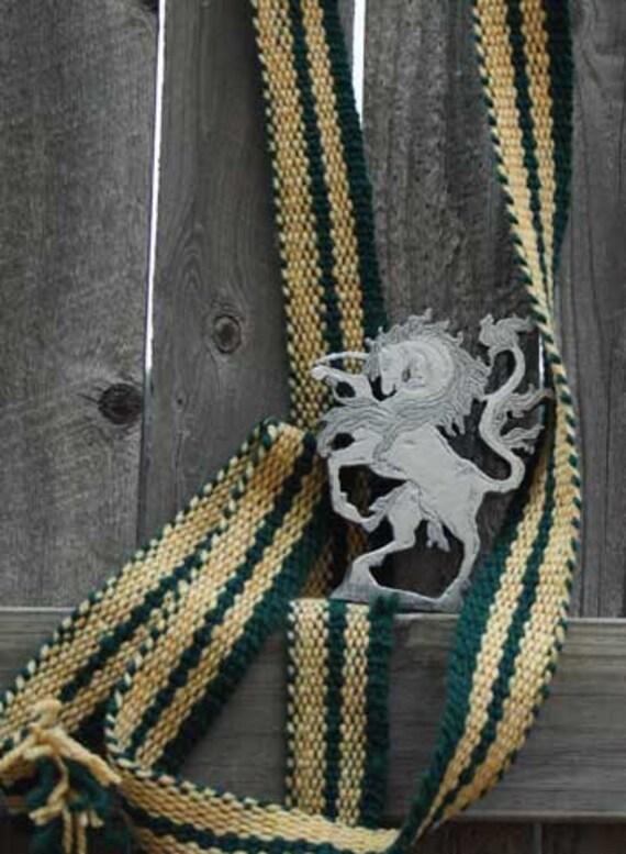 Cloth Trim, Inkle Woven, Virgin Canadian Wool and Icelandic Wool