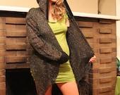 SALE 49 to 29 - Crystal Lattices Crochet Cardigan - LAST ONE