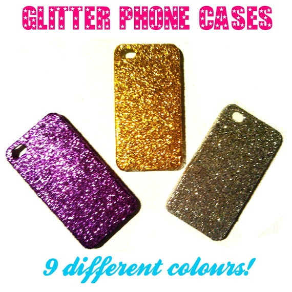 Glitter Phone Case for iPhone 4/4s - Various Colours