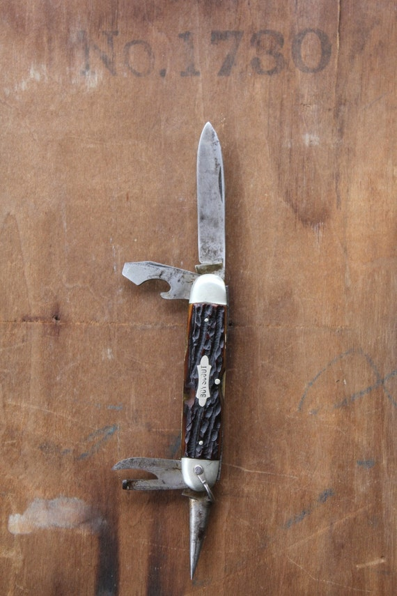 Vintage 50's German Solingen Boy Scout pocket knife