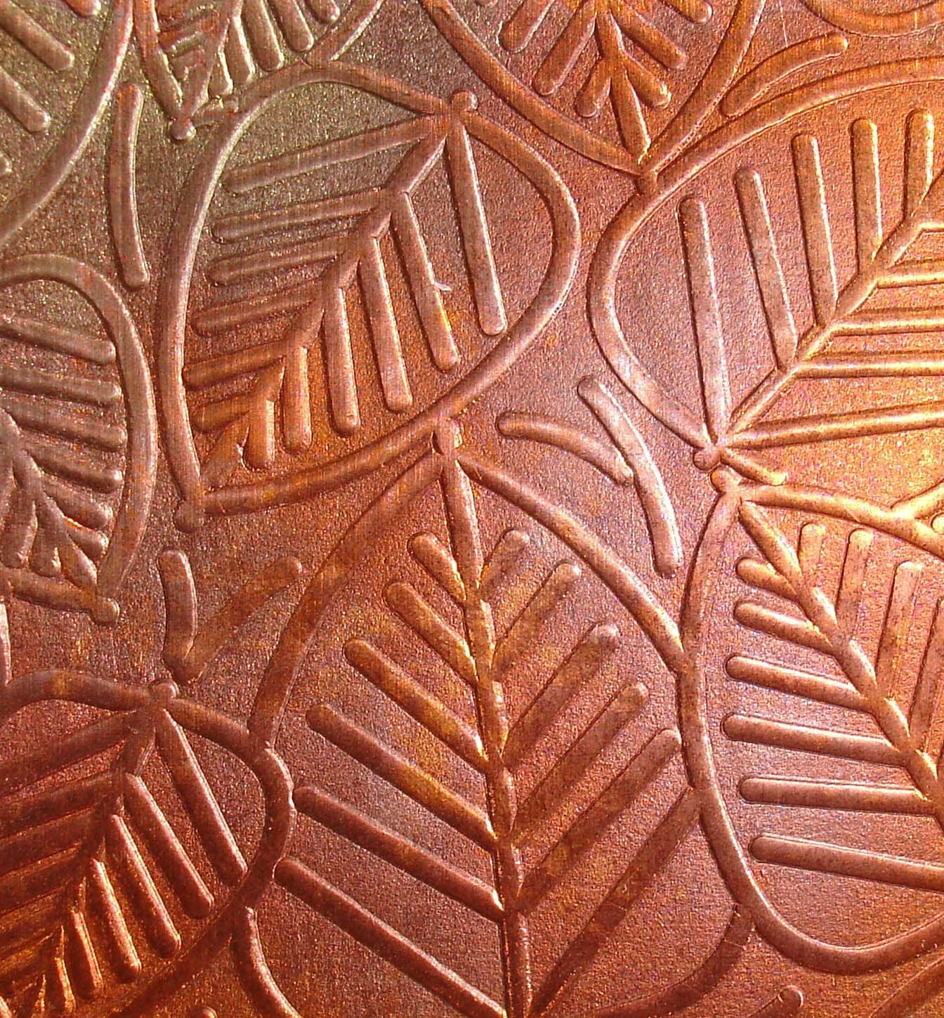 Textured Copper Sheet Metal Patina Copper Sheet Metal Leaves