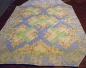 Baby Quilt - Lovers Knot Baby Animal Patchwork