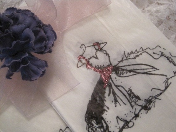 Cinderella Dresses - Glassine Favor Bags - Gift Bags - Wedding - Shower - Birthday - Glitter - Pink - Purple - Blue - Black - Silver
