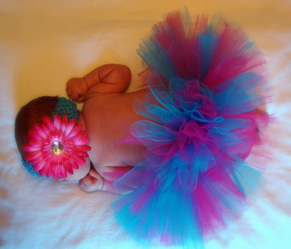 Design Your Own Tutu- Any colors- size newborn to 12 month