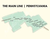Main Line Philadelphia Map