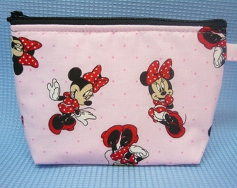 Minnie Mouse   make up bag