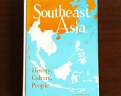 Large Blank Notebook - Southeast Asia - 220 Pages