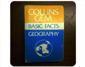 Mini Blank Pocket Notebook - Collins Geography Reference Book - 200 Pages
