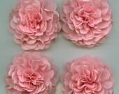 Light Pink Carnation Paper Flowers