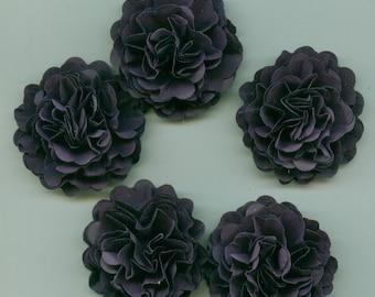 Dark Purple Mini Carnation Paper Flowers