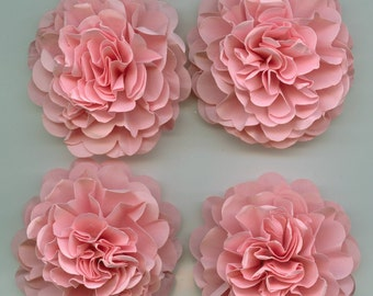 Light Pink Carnation Paper Flowers