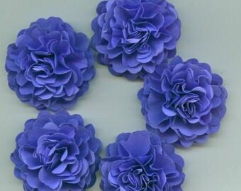 Venus Violet Purple Mini Carnation Paper Flowers