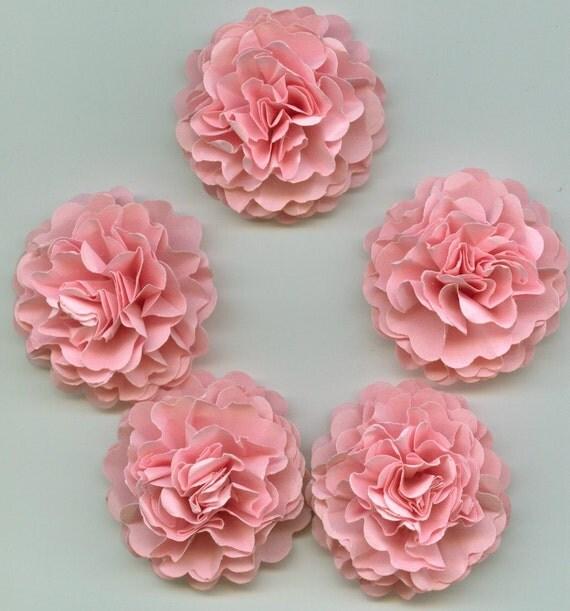 Light Pink Girl Mini Carnation Paper Flowers