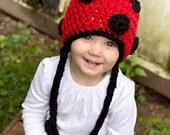 Lady Bug Cozy Cap