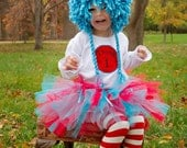 Thing 1 and Thing 2 Dr. Suess Inspired hat WIG (ONE WIG)