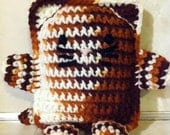 Brown Cat Amigurumi Stuffed animal