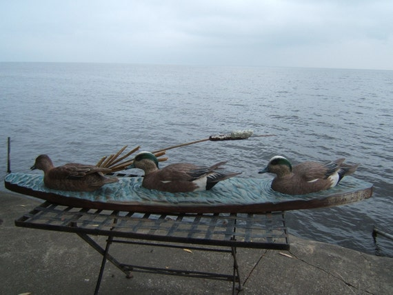 American Wigeons on the water