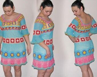 Women / Dresses Day Crocheted sundress...M/L...