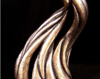 Merging - One Of A Kind Bronze Sculpture