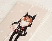 create cute set of 3 cards