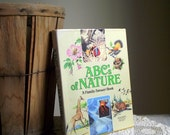 Vintage Nature Book ABCs of Nature A Family Answer Book Natural History Science Nature Illustrated SALE
