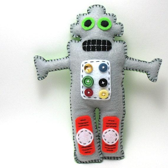 Felt Robot Pattern Robot Pattern ◅ ▻