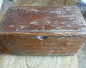 Very Clever Antique Sewing Box Opens In Fourths