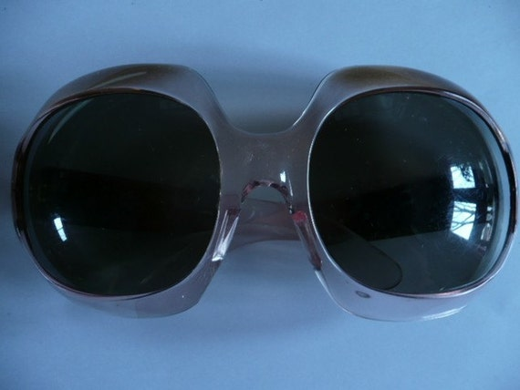 Huge Vintage Jackie O Sun Glasses