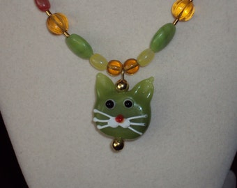 Kandy Kitty Necklace