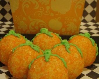 1 DZ  Pumpkin Sugar Cookies