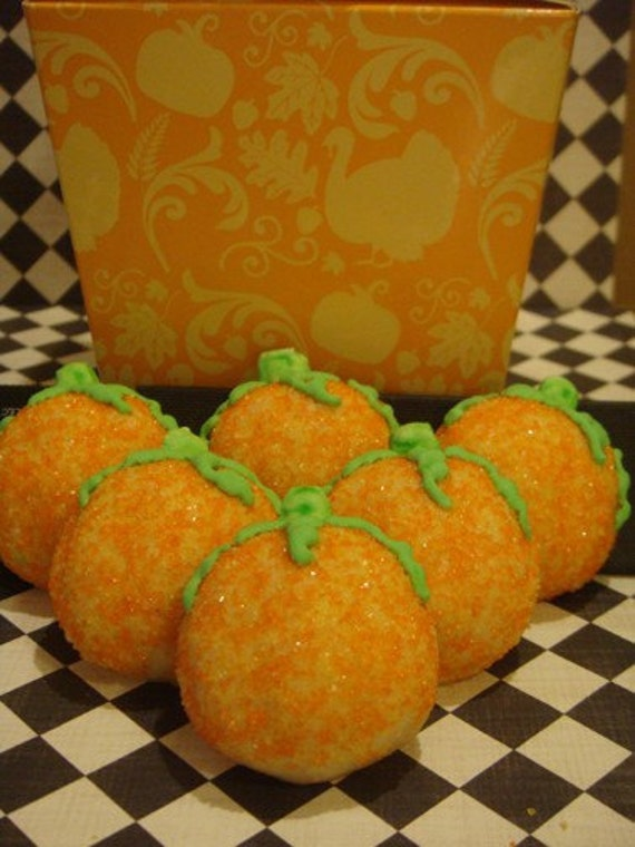 1 DZ  Pumpkin Sugar Cookies